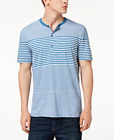 Calvin Klein Jeans Men's Striped Henley