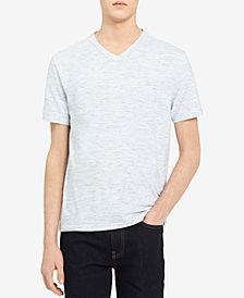 Calvin Klein Jeans Men's Textured V-Neck T-Shirt