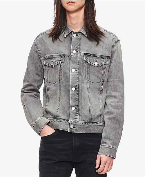 Calvin Klein Jeans Men s Santa Clara Denim Jacket - Coats   Jackets ... 4e975b63ad