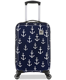 "Revelation! Anchor 21"" Carry-On Spinner Suitcase"