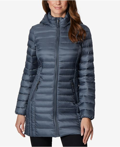 Packable Coat 32 Weathered Down Hooded Slate Puffer Degrees ZgnExnf