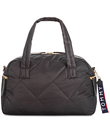 Tommy Hilfiger Kensington Nylon Quilted Duffle