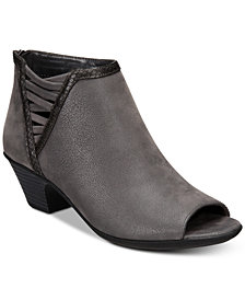 Easy Street Paris Peep-Toe Booties
