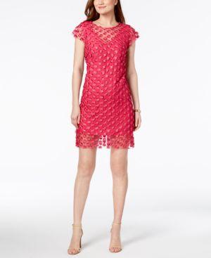 Nanette by Nanette Lepore Sheer Applique Sheath Dress 6293980