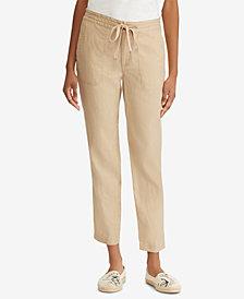 Lauren Ralph Lauren Petite Linen Pants