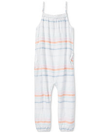 Polo Ralph Lauren Cotton Dobby Jumpsuit, Toddler Girls