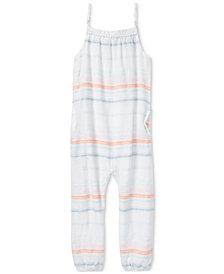 Polo Ralph Lauren Cotton Dobby Jumpsuit, Little Girls