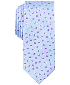 Bar III Men's Mini Floral Skinny Tie, Created for Macy's