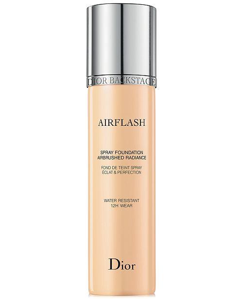 ... Dior Backstage Airflash Spray Foundation, 2.3 oz ...