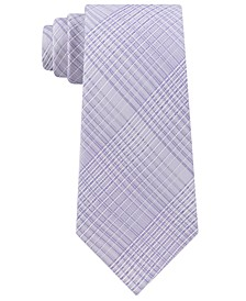Men's Hi-Ridge Plaid Slim Tie