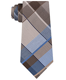 Kenneth Cole Reaction Men's Lunar Plaid Tie