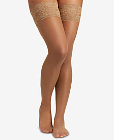 Berkshire Women's  French Lace Top Thigh High Hosiery 1363