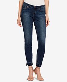 Vintage America Boho Released-Hem Skinny Jeans