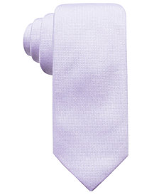 Ryan Seacrest Distinction™ Men's Faretta Seasonal Solid Slim Tie, Created for Macy's