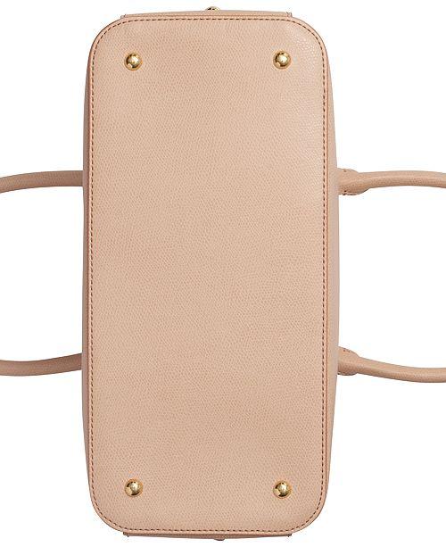 22f995f85c4 Calvin Klein Sabrina Leather Satchel & Reviews - Handbags ...