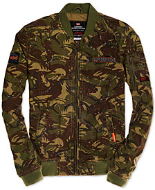 Superdry Men's Camo Bomber Jacket