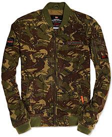 Superdry Men's Camo Bomber Jacket