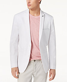 I.N.C. Men's Slim-Fit Seersucker Blazer