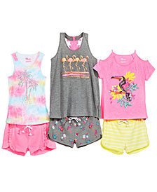 Epic Threads Big Girls Tank Top & Dolphin Shorts Mix-and-Match Separates, Created for Macy's