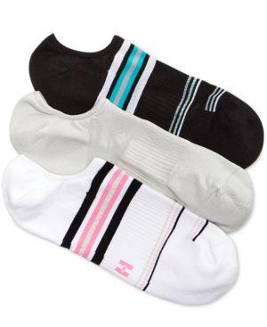 Hue Women's 3-Pk. Air Sleek Compression Cushioned Liner Socks 4300074