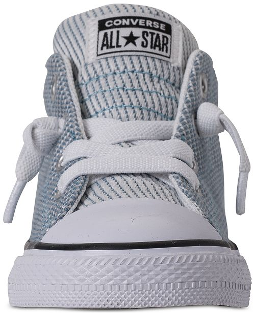 f255cad26a79 ... Converse Toddler Boys  Chuck Taylor All Star Street Mid Casual Sneakers  from Finish ...