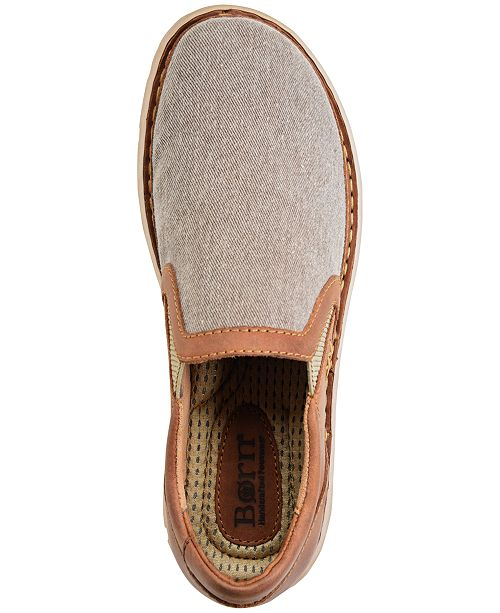 8ab75e6dc75ae Born Men s Sawyer Perforated Double Gore Slip-On Loafers   Reviews ...