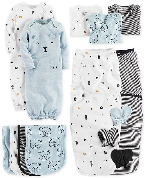 867fb4c9a2b8 Carter s Baby Boys Bear-Print Layette Separates   Reviews - Sets ...