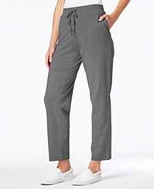 Sport Drawstring Straight-Leg Pants, Created for Macy's
