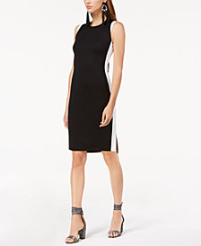 I.N.C. Colorblocked Sheath Dress, Created for Macy's