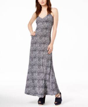 Michael Michael Kors Animal-Print Maxi Dress 6339155