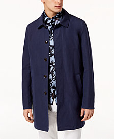Michael Kors Men's Laser-Cut Car Coat