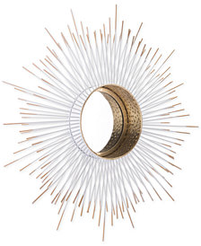Zuo Splan Gold-Tone & White Mirror