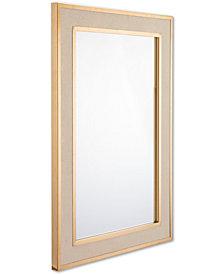 Zuo Pavia Cream-Framed Mirror
