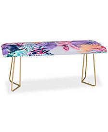 Deny Designs Iveta Abolina Tropical Island Bench