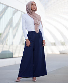 Verona Collection Wide-Leg Pants
