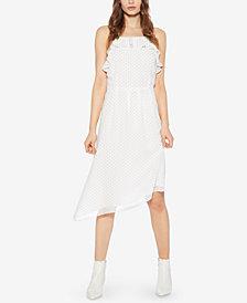 Avec Les Filles Dot-Print Asymmetrical Dress