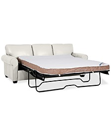 "Orid 84"" Queen Leather Sleeper, Created for Macy's"