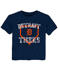 Outerstuff Detroit Tigers Fan Base T-Shirt, Big Boys (2T-4T)