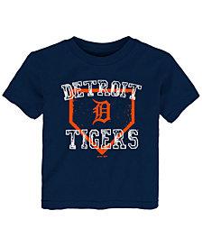 Outerstuff Detroit Tigers Fan Base T-Shirt, Big Boys (2T-4T)