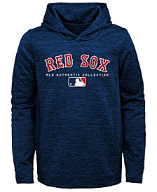 Outerstuff Boston Red Sox Team Drive Fleece Hoodie, Big Boys (8-20)