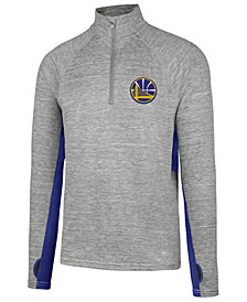 '47 Brand Men's Golden State Warriors Evolve Forward Quarter-Zip Pullover