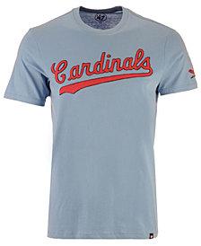 '47 Brand Men's St. Louis Cardinals Fieldhouse Basic T-Shirt