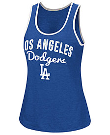 G-III Sports Women's Los Angeles Dodgers Power Punch Glitter Tank