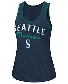 G-III Sports Women's Seattle Mariners Power Punch Glitter Tank