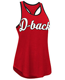 G-III Sports Women's Arizona Diamondbacks Oversize Logo Tank