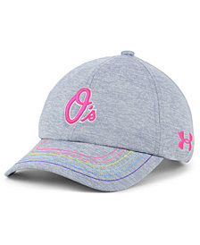 Under Armour Girls' Baltimore Orioles Renegade Twist Cap