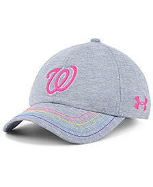 Under Armour Girls' Washington Nationals Renegade Twist Cap