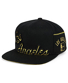 Mitchell & Ness Los Angeles Lakers Patent Cropped Snapback Cap