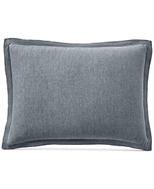 CLOSEOUT! Linen Standard Sham, Created for Macy's