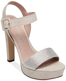 Madden Girl Rollo Embellished Platform Dress Sandals